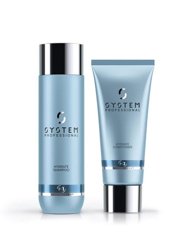 System Hydrate Shampoo ja Conditioner -paketti